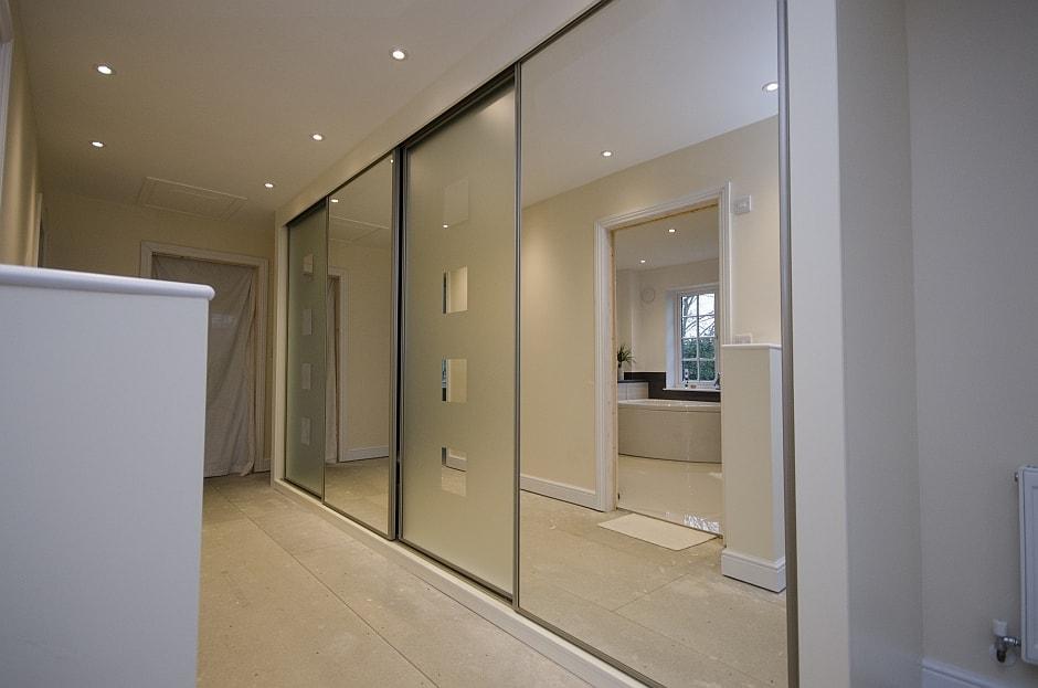 Bournemouth Glass Wardrobes