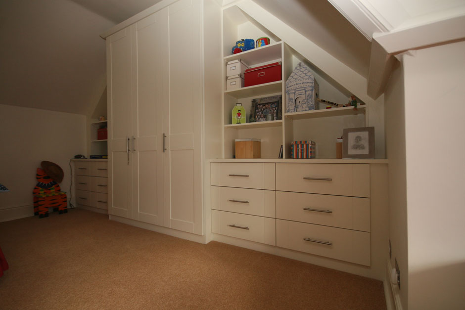 Angled Bedrooms in Bournemouth