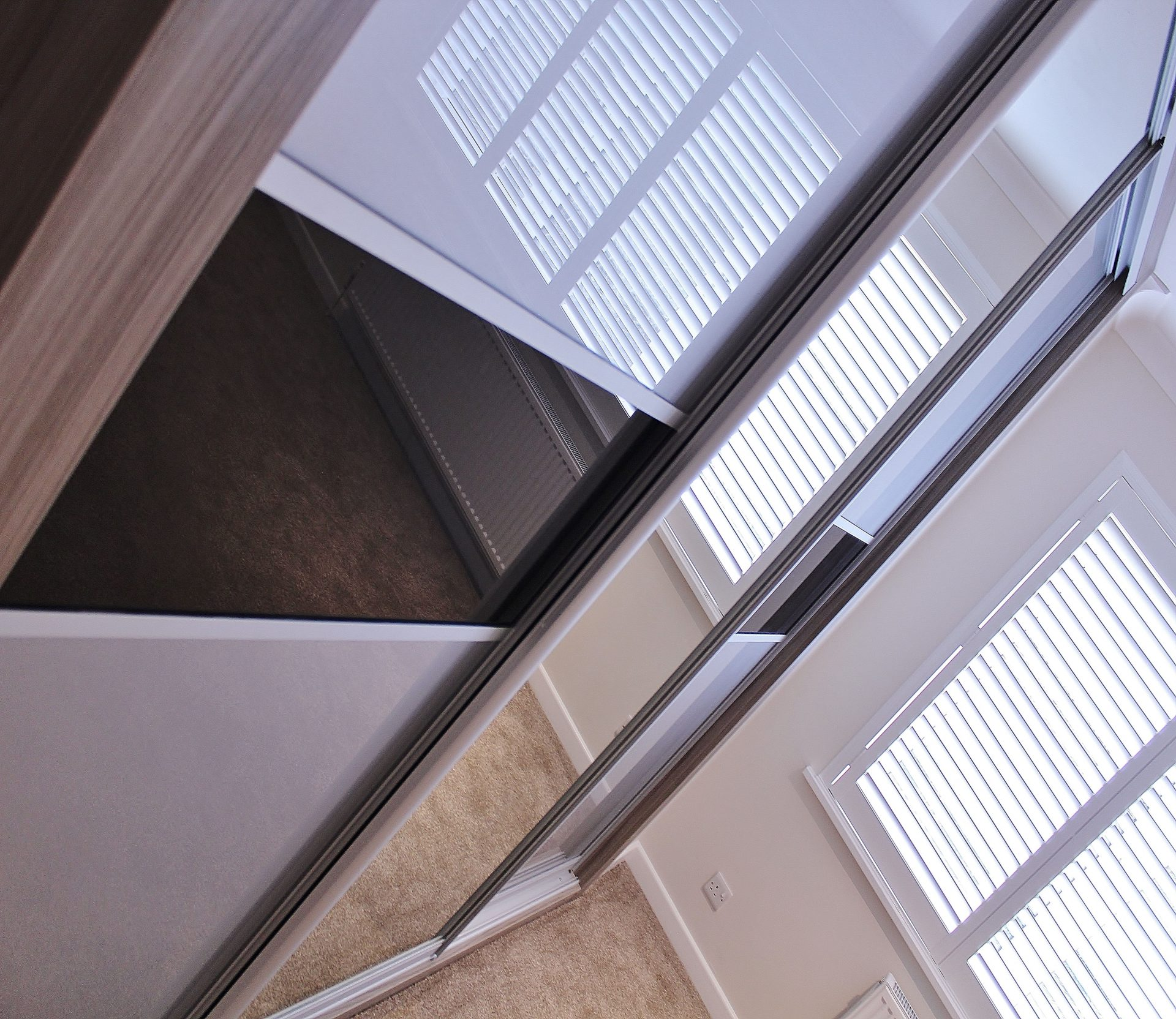 An example of how we supply Poole quality sliding door wardrobes.